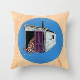 Sheds & Shacks | No:2 Throw Pillow