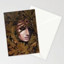 Mabon - goddess of fall Stationery Cards