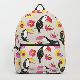 Watercolor toucan Backpack
