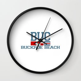 Buckroe Beach - Virginia. Wall Clock