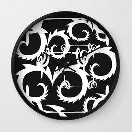 Curlz Wall Clock