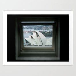 The Sydney Opera House  Art Print
