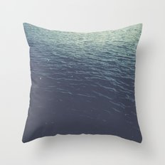 On the Sea Throw Pillow