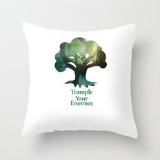 Trample Your Enemies Throw Pillow