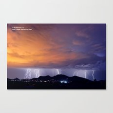Lighting Up the Town II Canvas Print