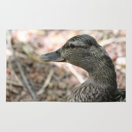 Duck Close Up Rug