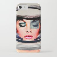 space jam iPhone & iPod Cases featuring Space Jam by Katy Hirschfeld