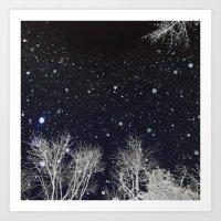 A Cold Night Art Print
