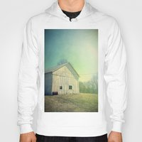 country Hoodies featuring Country Morning by Olivia Joy StClaire