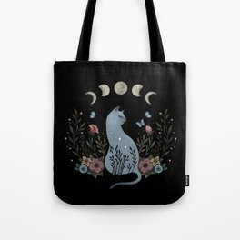 Cat on the Hill Tote Bag