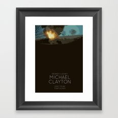 Michael Clayton Framed Art Print