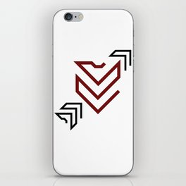 Arrow to your heart iPhone Skin