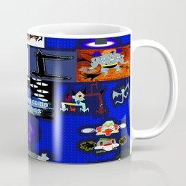 Humanos como monstruos y Lord Lux Tártaro Logo Coffee Mug