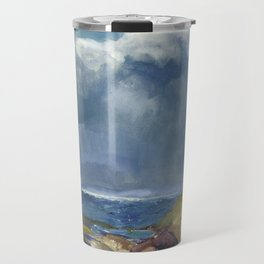 George Bellows - The Coming Storm, 1916 Travel Mug