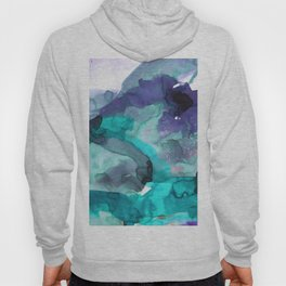 Vellum Watercolor Bliss 3C by Kathy Morton Stanion Hoody