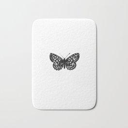 Minimalista borboleta 3 Bath Mat