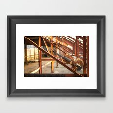 rust-violin Framed Art Print