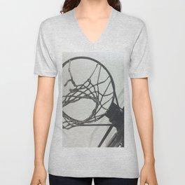 Basketball Hoop Unisex V-Neck