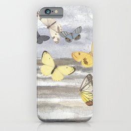 Butterfly escape iPhone Case