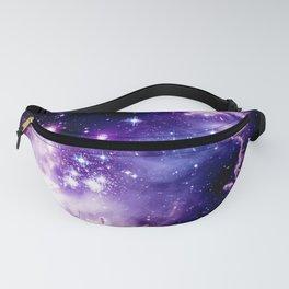 Galaxy .  Deep Purple & Blue Fanny Pack