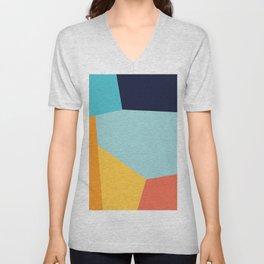 Colorful pattern XIX Unisex V-Neck