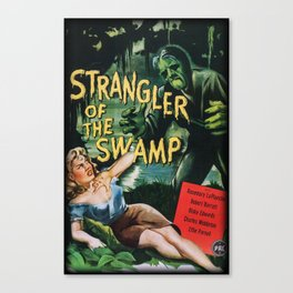 Strangler of the Swamp Canvas Print