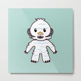 Abominable Yeti Metal Print