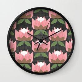 MCM Protea Wall Clock