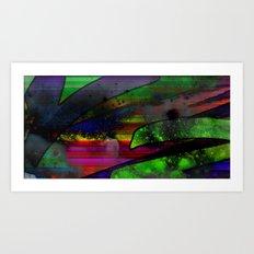 Cosmic Trash Art Print