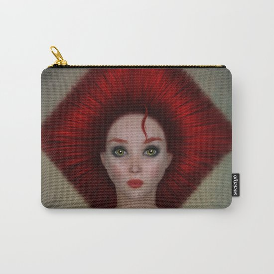 Queen of diamonds portrait Carry-All Pouch
