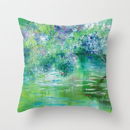 Green River Mystery Throw Pillow