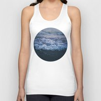 waves Tank Tops featuring Waves by Leah Flores