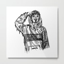 Lil Xan Metal Print