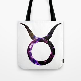 Watercolor Taurus Tote Bag
