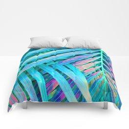 Rainbow Palms Comforters