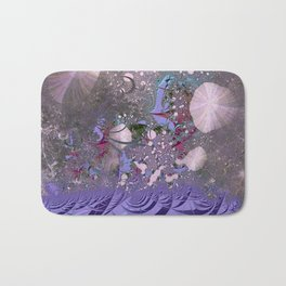 The ocean and skies of random thoughts Bath Mat