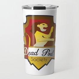 Dead Poet Society Club Logo Travel Mug