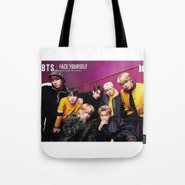 bts face yourself 2 Tote Bag