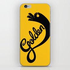 Golden! iPhone & iPod Skin
