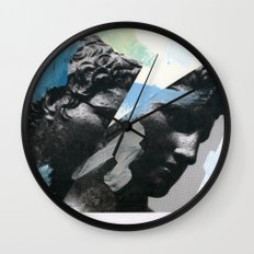 Untitled (Painted Composition 1) Wall Clock