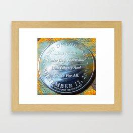 September 11th 2001 Framed Art Print