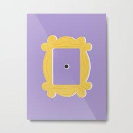 Friends Picture Frame Door Metal Print
