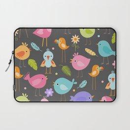 Birds - Gray Laptop Sleeve
