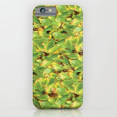 Green Leaves Surface Design Pattern iPhone 6s Slim Case