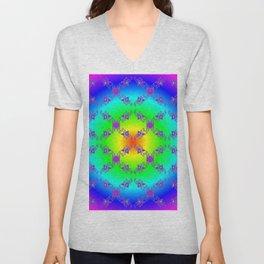 ff - pattern rainbow Unisex V-Neck