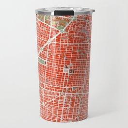 Mexico city map classic Travel Mug