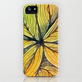 Doodled Aura-Leah Digitized Macro iPhone Case