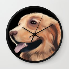 Who's A Good Boy Wall Clock