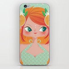 Orange Lemonade iPhone Skin