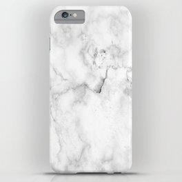 White marble decor 1 iPhone Case